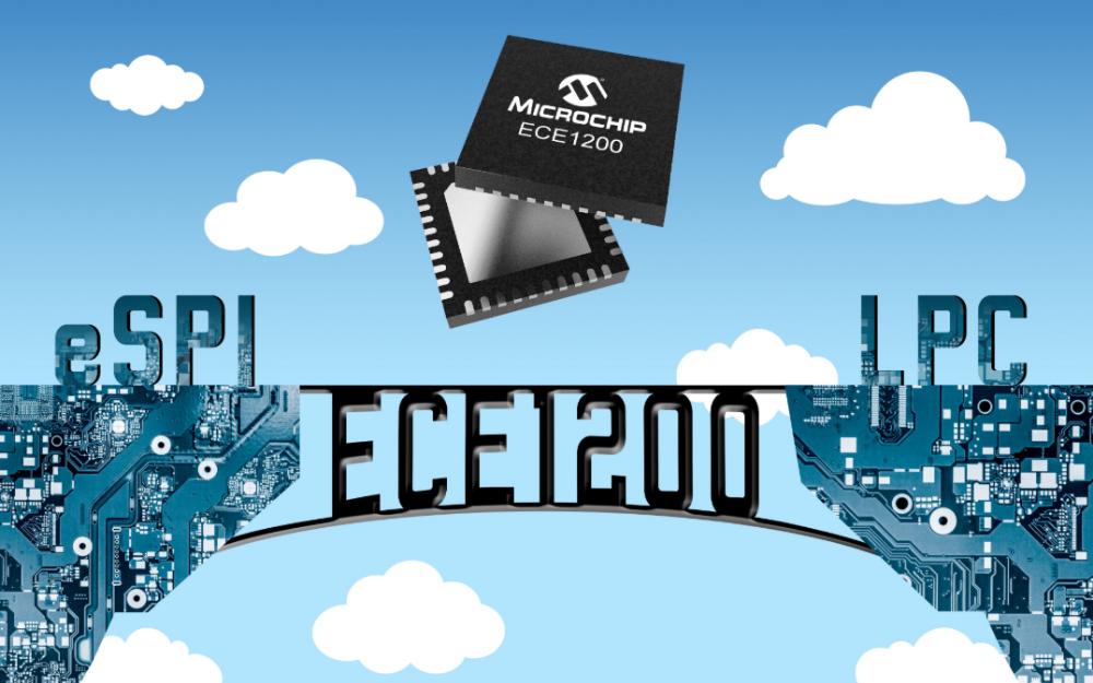 Microchip推出业界首款商用eSPI至LPC桥接器,不会浪费您在原有LPC设备上的投资
