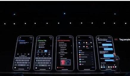 苹果正式宣布了iOS 13系统解锁速度提升30%...