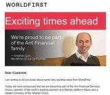 马云48亿拿下英国超级巨头WorldFirst 成为全世界的焦点