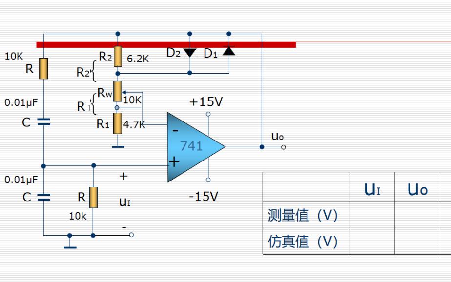 模拟电路实验教程之正弦波振荡电路的详细资料说明