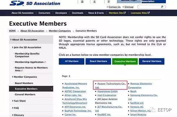 SDA、WiFi联盟、蓝牙技术联盟、JEDEC协会均已恢复华为成员资格