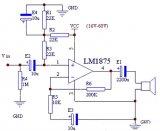 TDA1521功放電路板原理圖