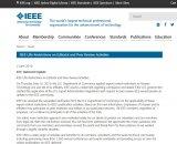 开始认怂?IEEE解除对华为员工编辑和同行评审活...