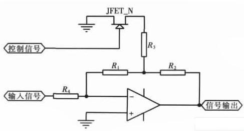 基于JFET实现放大倍数精确调节并可程控的放大电路设计