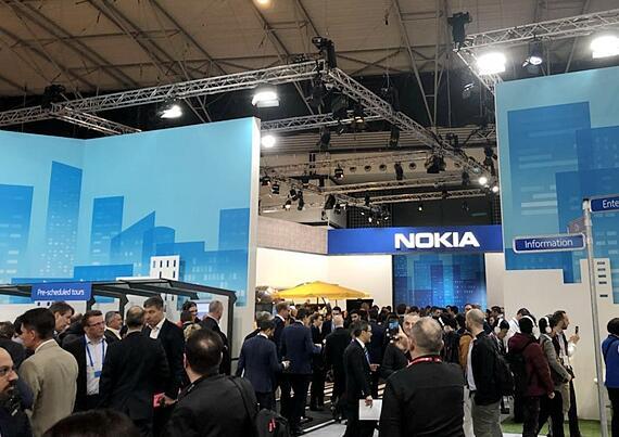 诺基亚已经与全球超过100个客户达成了5G商用合...