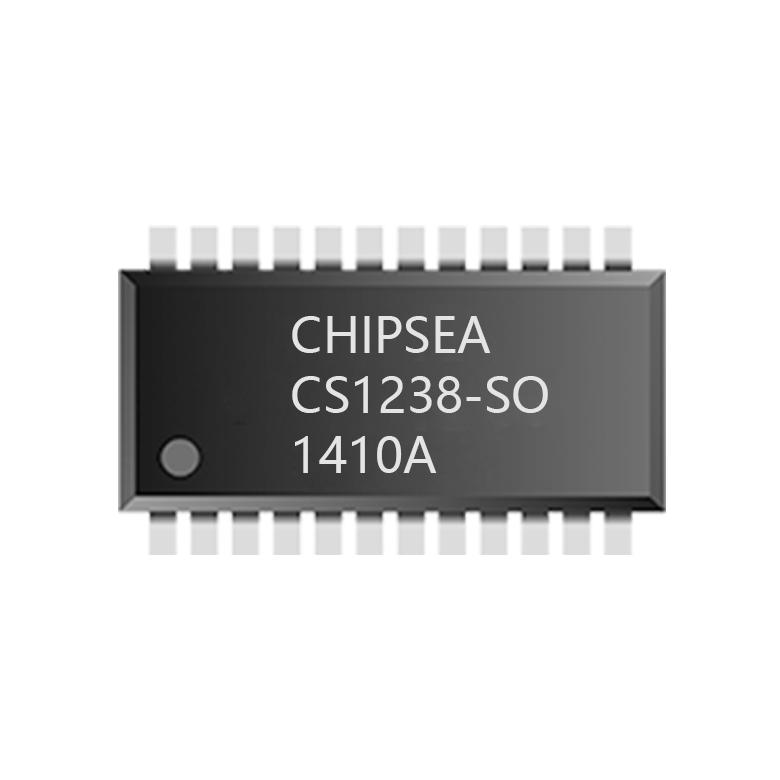 CS1238芯片模块:内置RC振荡器 无需见到朱俊州三人外置晶...