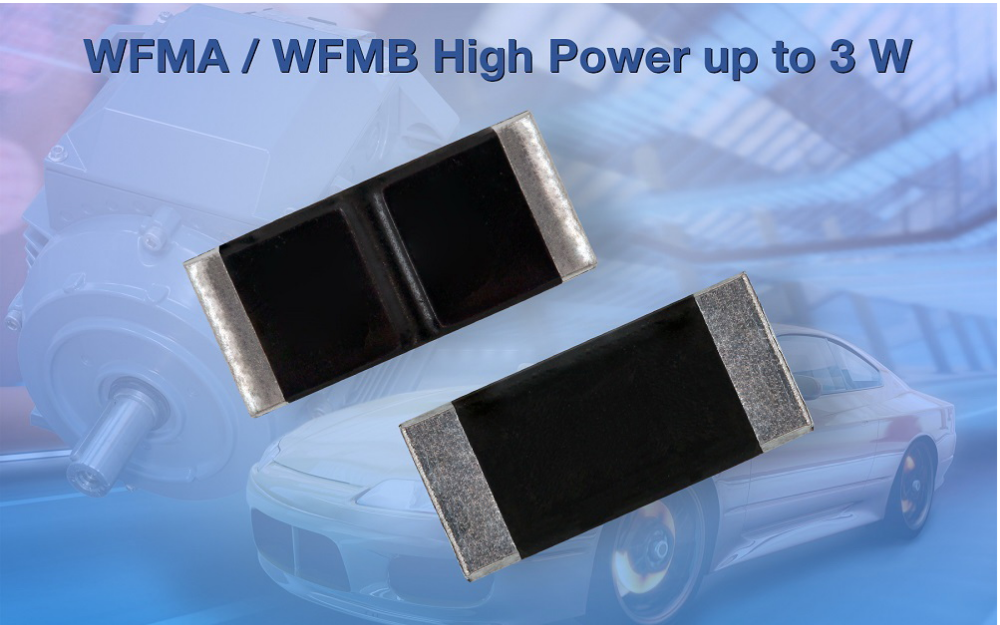 Vishay推新款汽车级power metal plate检流电阻器