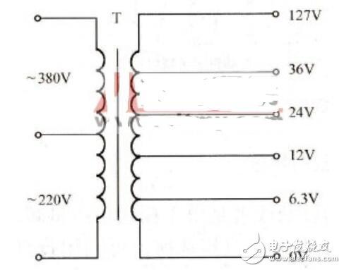 控制变压器接线方法