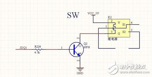 STM32单片机控制蓝牙的电路