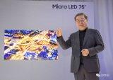 三星Micro LED TV难入主家用电器