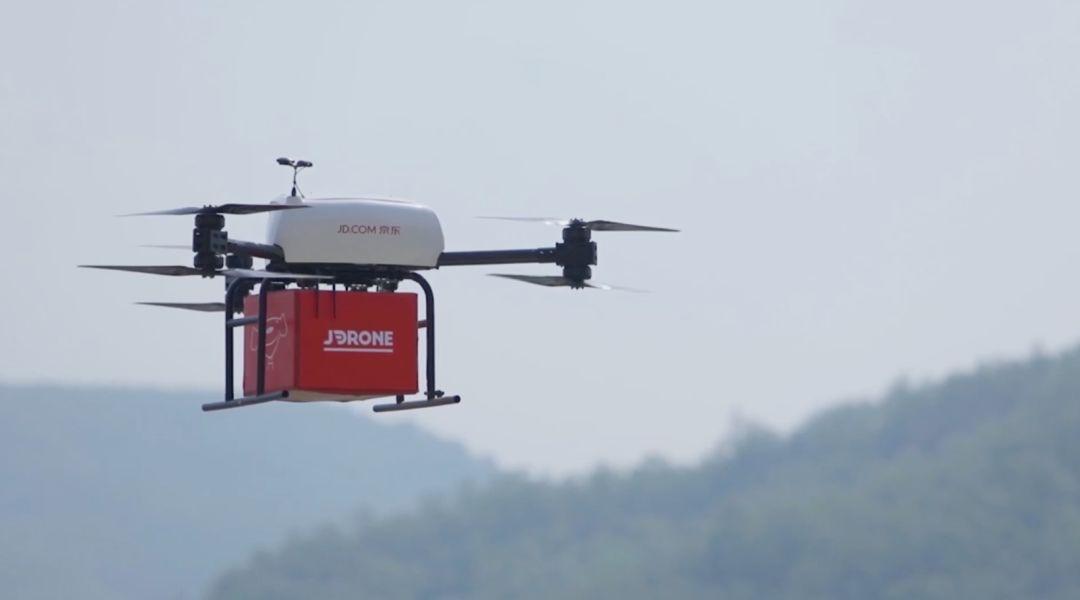 中国无人机助国际快运公司实现全自动递送 可减少8...