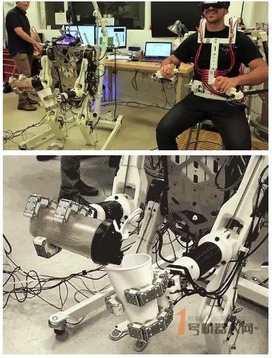 人类反应与机器的浑然一体 营救机器人诞生