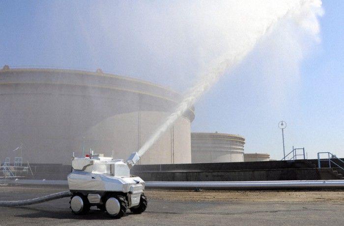 日本建成首支智能机器人消防队伍
