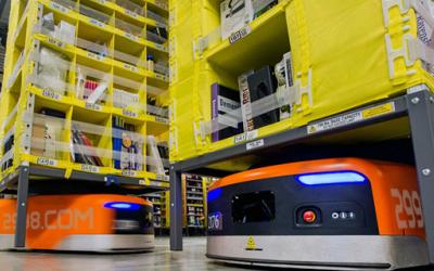亚马逊采用新葡京机器人 预计10年实现完全自动化