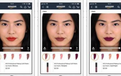 亚马逊将为消费者带来全新的模拟口红试妆体验