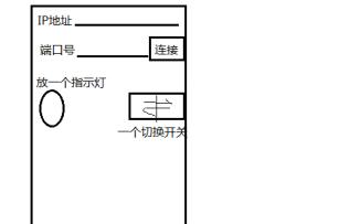如何制作使用手机TCP客户端发信息给单片机控制LED小灯的亮灭的系统