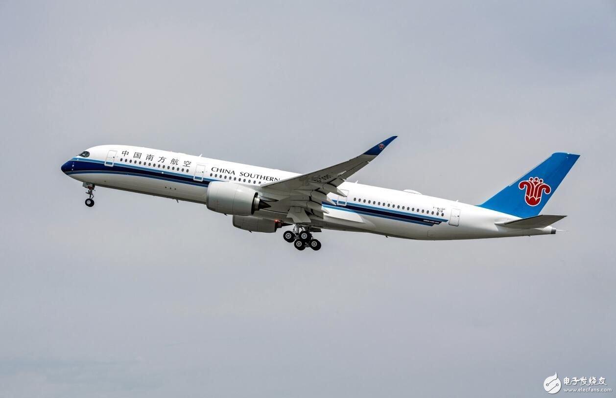 南航首架A350已实现首飞将于下月在上海正式投入运营