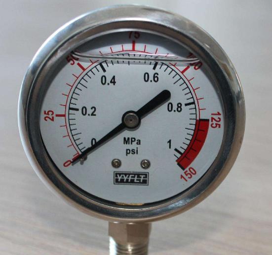 耐震压力表的常见故障及分析
