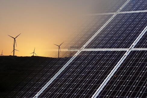 物联网正在试图促进太阳能和风能等能源的管理