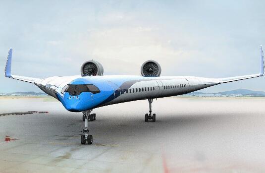 荷兰皇家航空与代尔夫特理工大学航空航天合作将共同开发Flying-V飞机