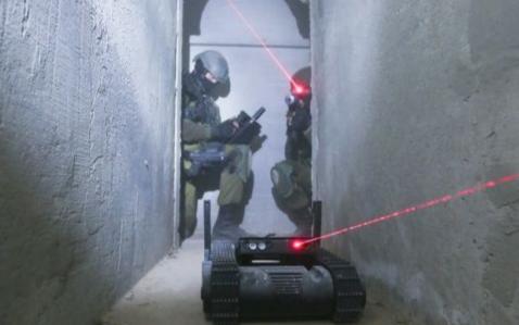 以色列推出武装机器人 可扫荡死角弹无虚发