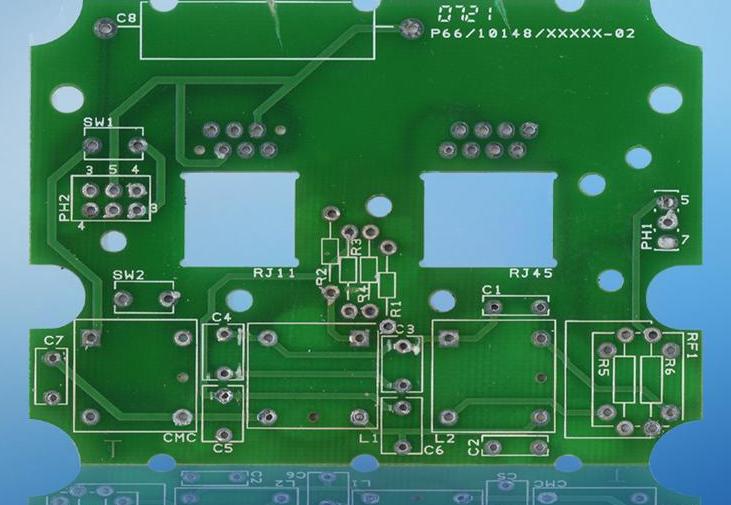 什么叫做裸铜覆阻焊膜工艺法