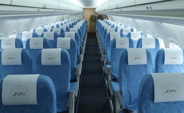 天骄航空正式接受了一架商用喷气客机ARJ21今年机队规模将达四架