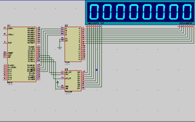 51单片机汇编语言教程之动态扫描显示接口电路的介绍及程序说明