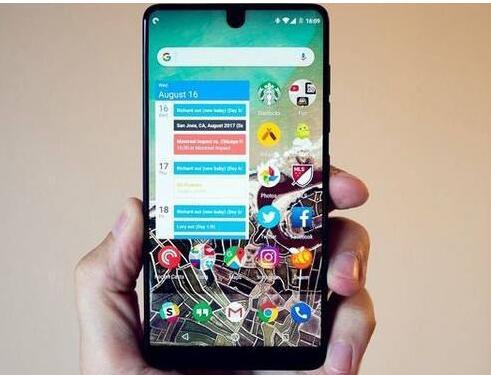 新款Essential Phone曝光将采用屏下前置摄像头设计
