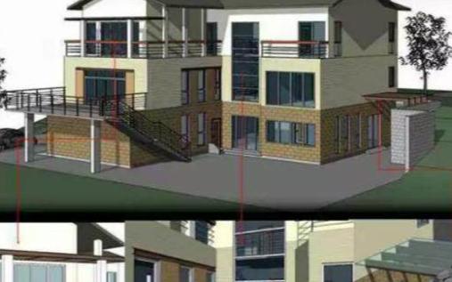 BIM呈现室内设计的360全景实时仿真模拟