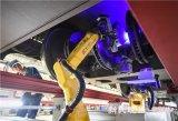 AGV+机械手,动车组检测机器人在上海投入使用