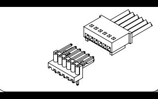 长江C2504系列2.50毫米节距线对线连接器的数据手册免费下载