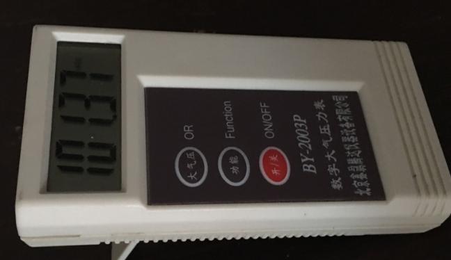 数字大气压力表的特点及用法