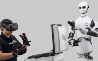 Telexistence智能机器人上演隔空取物和...