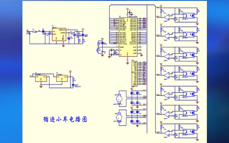 如何使用ATmage32L单片机进行自动循迹智能小车的设计