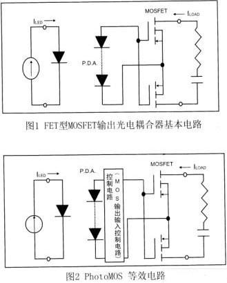 在PhotoM0S中构成的光电元件的特点与构造