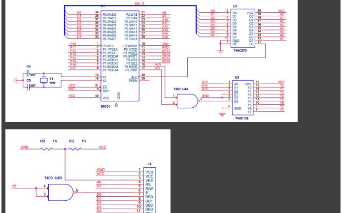 51單片機總線與非總線的程序有什么不同詳細對比資料說明