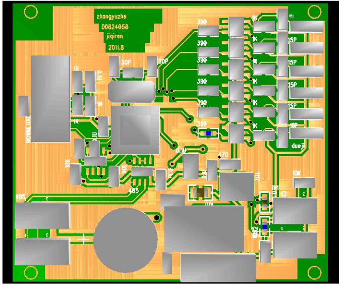 机器人控制电路设计