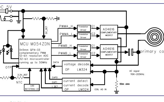 NVSP0006发射机无线充电芯片的数据手册免费下载