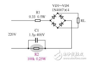 泄放电阻电路分析