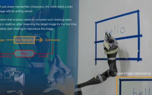 智能机器人能一笔一划临摹出蒙娜丽莎还能模仿你的笔...