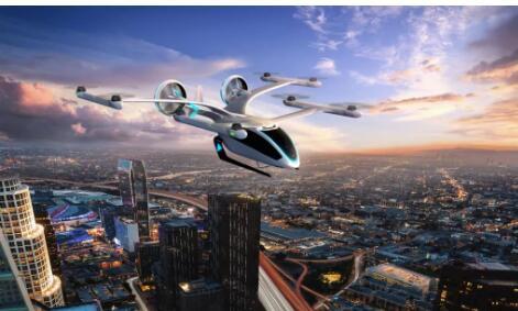 巴航工业推出了一款拥有垂直起降能力的飞行器eVTOL设计理念