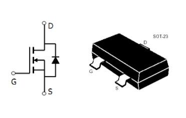 AO3404场效应晶体管的特点及应用