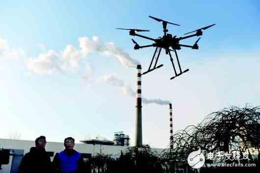 基于无人机和传感器的大气环境监测应用