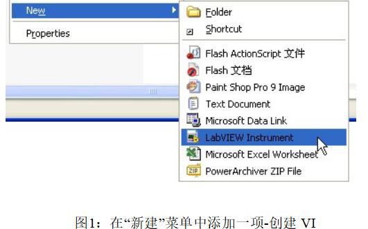 LabVIEW教程之在文件夾下直接創建新的VI詳細說明