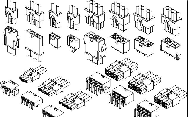 C4201系列4.20毫米节距线对线和线对板连接器的数据手册免费下载