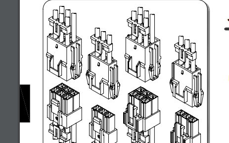 C6201系列6.20毫米节距线对线和线对板连接器的数据手册免费下载