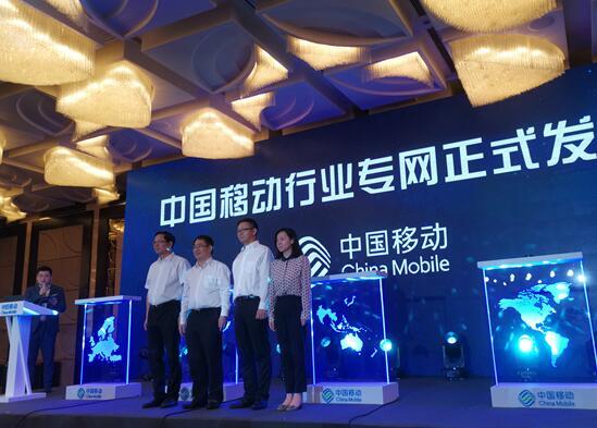 中国移动拥有强大的传输网络能力自建光缆总长度已超...