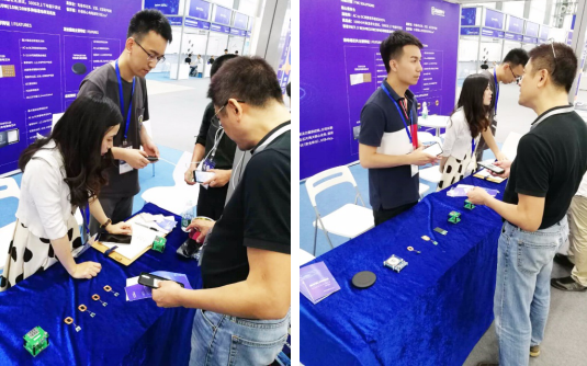 紫光同芯无线充电产品惊艳亮相第二届快充&无线充电大会