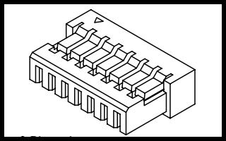 A1002系列1.00mm节距线对板连接器的数据手册免费下载